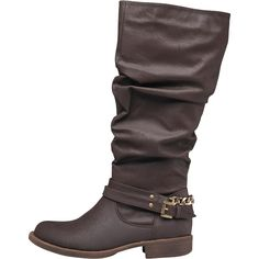 699552e851 Board Angels Womens Ruched Boots Brown Mid Calf Boots, Brown Boots,  Footwear, Riding