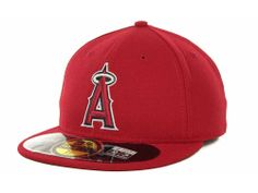 """Los Angeles Angels of Anaheim New Era """"MLB Authentic Collection 59FIFTY Cap"""""""