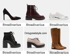 Stradivarius shoes fall winter 2016 2017 for women