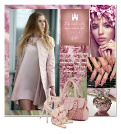 """Classy In Dusty Rose...."" by meetzz ❤ liked on Polyvore featuring contest and dusty"