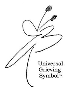 Universal Symbol of Grief. Hmmm. Very cool--never seen it before!