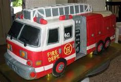 Don't know if it's tasty or not, but it's a freakin' Fire truck birthday cake!