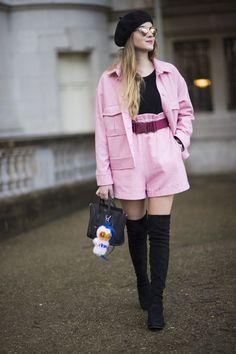 Pin for Later: Retour Sur les Meilleurs Looks Street Style de la Fashion Week de Paris Jour 3 Valentina Ferragni