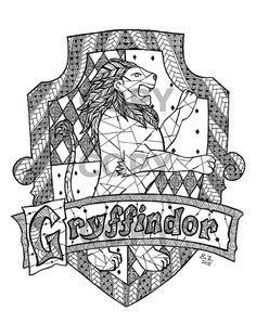 Gryffindor House Crest (Harry Potter)