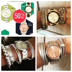 Love all these watches! 50% off! Love Silpada!