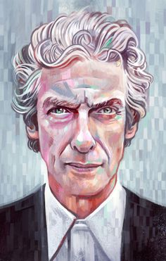 Miguel delicado illustration onikinci doktor who, çizimler, taslaklar, pete New Doctor Who, Doctor Who Fan Art, 12th Doctor, Twelfth Doctor, Romantic Pictures, Great Pictures, Teen Wolf Scott, The Best Series Ever, Disney Sketches