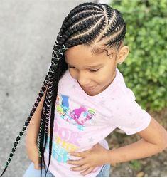 Ideas Braids For Kids Lemonade For 2019 Box Braids Hairstyles, Lemonade Braids Hairstyles, Kids Braided Hairstyles, My Hairstyle, Short Hairstyles, Hairstyle Ideas, Little Girl Braids, Black Girl Braids, Braids For Black Hair