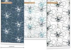WR0337RT - Tonal Floral Wallpaper by Rachael Taylor