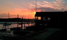 Wivenhoe sunset.