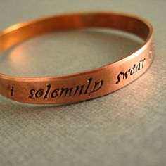 I had to have this Harry Potter bracelet; ordered it yesterday! You have been warned- I am up to no good.