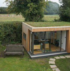 Lille kontor tilbygning