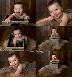 Happy 6 month old baby boy, photographed by Moretti Photography. A studio photographer servicing the Ankeny, Des Moines, and surrounding areas. baby photography, newborn photographer, Des Moines, Iowa, Ankeny, Iowa newborn photographer