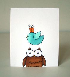 Jane's Doodles: one card 3 ways and a giveaway