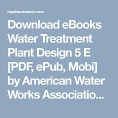 Water Treatment Plant Design 5th Edition Pdf