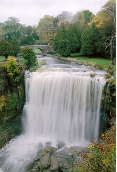 Ancaster/Hamilton Ontario: the waterfall capitol of Canada…