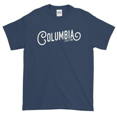 Columbia South Carolina Short sleeve t-shirt