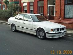 My 1989 BMW E34 Alpina B3.6