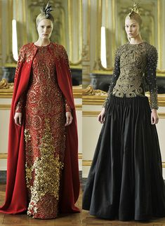 Long live McQueen -- beautiful designs inspired by works of master artists by one of the most creative British designers of our times