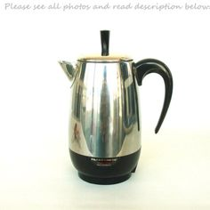 Farberware Superfast Charged Coffee Percolator Maker #coffeepercolator