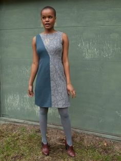Half Moon dress lace. Sale: $39.99, regularly 89.99. Dress has two beautiful colours: teal and gray lace, two personalities.