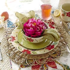 Water Hyacinth Placemat Natural