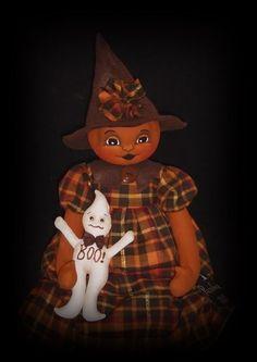 OOAK HaLLoWeeN folk art Jack Skellington by WitchHollowPrims