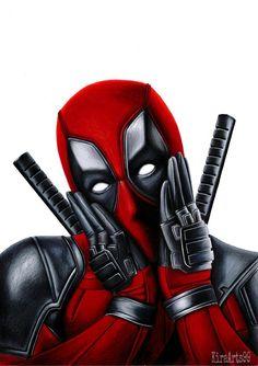 #Deadpool #Fan #Art. (Deadpool) By: KiraArts99. (THE * 5 * STÅR * ÅWARD * OF: * AW YEAH, IT'S MAJOR ÅWESOMENESS!!!™)[THANK U 4 PINNING!!!<·><]<©>ÅÅÅ+(OB4E)                      https://s-media-cache-ak0.pinimg.com/564x/77/f7/05/77f70559151e63363b43cd47fdc3774b.jpg