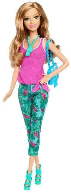 Barbie Fashionista Summer Doll - Free Shipping