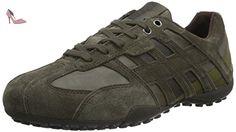 Geox U Box C, Sneakers Basses Homme - Gris (Mud/Grey) - 43 EU