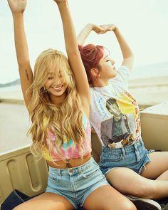 Hyorin & Soyou