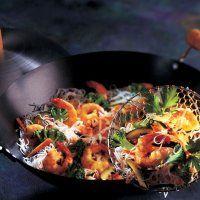 Vermicelle de riz sauté aux crevettes - Cuisine et Vins de France