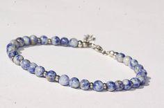 Bracelet de cheville/ Bijoux de cheville/ pierre de Gemmes Ankle Jewelry, Ankle Bracelets, Beaded Bracelets, Stainless Steel Bracelet, Anklet, Gemstones, Chain, Beads, Metal