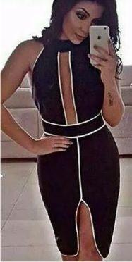 a52295401f Vestido decote tule ilusion Vendas no atacado em 2019