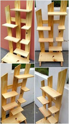 Pallets DIY can without much of a stretch lead to wounds, particularly when they are taken care of or utilized inappropriately. The uplifting news is… Arte Pallet, Wood Pallet Art, Diy Pallet Furniture, Furniture Projects, Wood Pallets, Wood Wood, House Furniture, Painted Wood, Wood Art