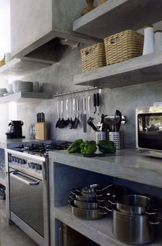 Stylish Industrial Kitchen Design Ideas 25 - HomeKemiri.com