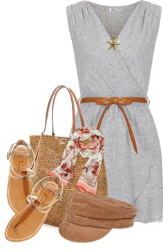"""""""Walk On The Beach"""" by tammylo-12 ❤ liked on Polyvore"""