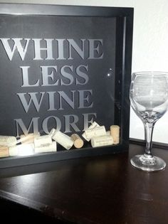 Etched Wine Cork Holder