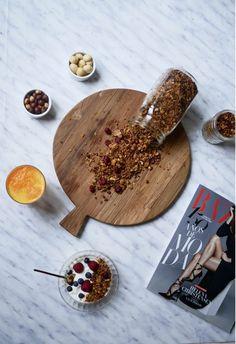 Granola casera, fácil y saludable Barcelona, Healthy, Homemade, Recipes, Barcelona Spain