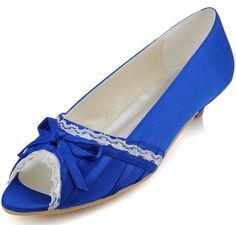Fashion Ivory White Blue Peep Toe Bow Lace Satin Wedding Bridal Women's Comfortable Flat Shoes Bridal Shoes Woman Shoe