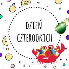 Social Media Rybka (@SMRybka) | Twitter  Do wszystkich Czterookich płyną płetwiste życzenia! :> #DzieńCzterookich #gogle #okulary #oczy #bulbul