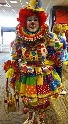 Clown from Facebook page: world clown association