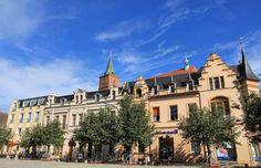 Marktplatz vorm Rathaus Bernau