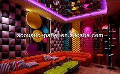 #fire resistant decorative wall panel, #faux leather wall panels, #fiberglass decorative wall panels Faux Leather Walls, Leather Wall Panels, Decorative Wall Panels, 3d Wall Panels, Mexican Restaurant Decor, Restaurant Design, Karaoke, Soundproof Panels, Pool Party Themes