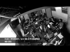 Interview at La X 103.9 FM Bogotá. Nov 2013