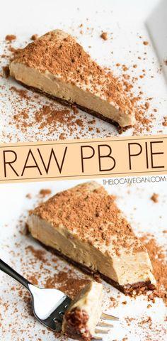 Peanut Butter Pie — The Local Vegan™️   Official Website // http://www.thelocalvegan.com
