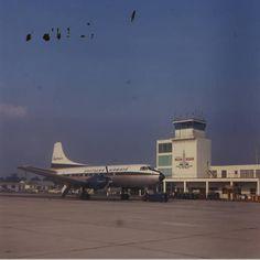 Baton Rouge Louisiana BTR Airport around 1964