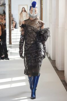 Maison Margiela Fall 2017 Couture Fashion Show - Irina Kravchenko