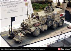 1:35 Cougar MRAP #scale #model #mrap #cougar #modern #us