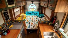 Tour of an off gid camper van. Built by Off Grid Campers. This quirky van conversion is unique and has so much space. Includes a full sink, cooker, solar, hot water and shower. Camper Vans Uk, Off The Grid, Motorhome, Layout, Tours, Make It Yourself, Campers, Cooker, Solar