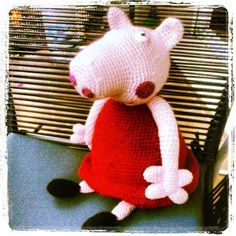 ¡¿...de Iaies?!: Peppa Pig and her crochet pattern